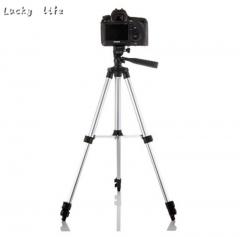 Tripod Stand Mount Holder For Digital Camera Camcorder DSLR SLR All Mobile Phone silver white one size