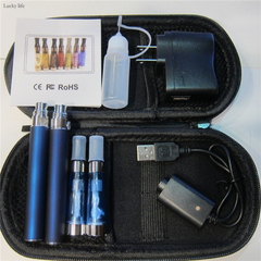 eGo-T 2pcs Set 650 mAh Vape Pen Vaporizer Pen Double Mod Kit with Accessories + Bag Case no.2