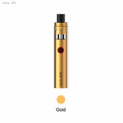 Original Smok Stick AIO Kit with built-in1600mAh Battery+Dual Coils 0.23ohm Vape Pen gold