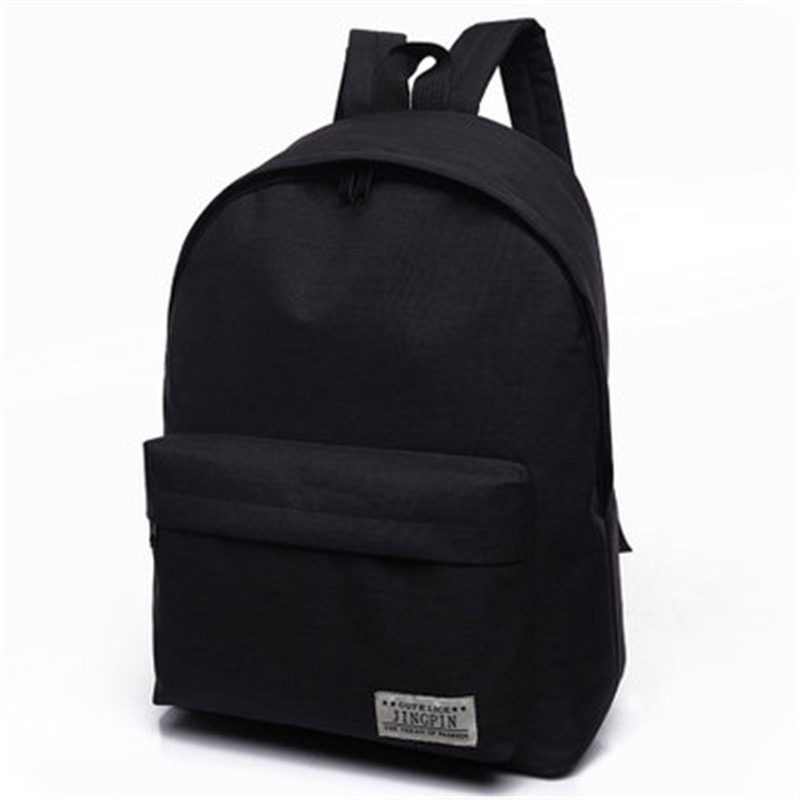 333a6df2c8ca2 ... College Wind Tide Backpack Schoolbag Male Fashion Bags black 30CM long