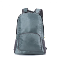 Storage bag new folding backpack outdoor climbing bag waterproof travel backpack gray Length 36CM, height 42CM, width 16CM