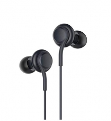 Samsung S8 earphone line control with black color For Samsung Android iPhone black