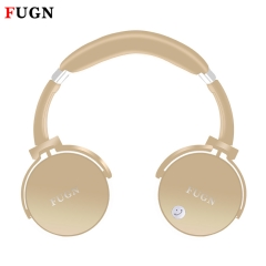 Wireless Bluetooth Stereo Headset Foldable Headphone Earphone for iPhone Samsung Android light gold