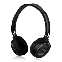 Hot Sale Wireless Bluetooth Stereo Headset Foldable Headphone Earphone for iPhone Samsung Android black