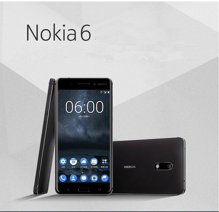 "Refurbished phone Nokia 6 – 5.5"" - 64 GB ROM – 3.5GB RAM – 16MP+8MP Camera – Dual SIM Smartphone black 2"