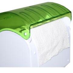 ALPHA TISSUE PAPER DISPENSER- 931 ACB Green normal size