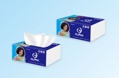 ALPHA 3 IN 1 TOILET PAPERS white normal size