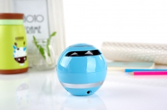 YST175  waterproof speakers wireless portable mini  bluetooth speaker / FM radio  / TF card blue 7.7*7.7*7.8