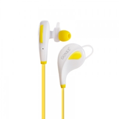 Item: GK302 high quality mini sport earbuds waterproof wireless bluetooth earphone headphone white+yellow