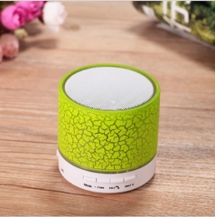 A 9 Low price portable music bluetooths/ TF card playback shower BT speaker wireless wifi speaker green 6.2*6.2*6