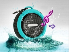 C06 Hot sale waterproof mini speaker wireless,waterproof speakers car speaker blue 8.8*8.8*3.6
