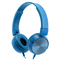GKH20 Hot selling  airline wired headphones wholesale fashion design wired headphone blue