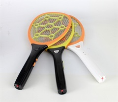 WP0009 Round Plug Rechargeable Electric Mosquito Swatter  Insect  Fly Zapper Swatter Hand Racket random 50*21.5*1.3cm