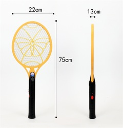 WP2211 Rechargeable Electric Mosquito Swatter with LED Light Insect  Fly Zapper Swatter Hand Racket random 75*22*1.3cm