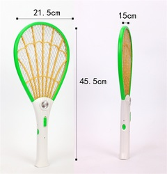 WP2299 Electric LED Mosquito Swatter Anti Mosquito Fly Repellent Bug Insect Repeller Reject Killers random 45.5*21.5*1.5cm