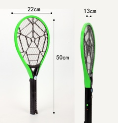 WP2288  New Mosquito Swatter Killer Electric Tennis with LED  Bat Handheld Racket Insect Fly Bug random 50*21.5*1.3cm