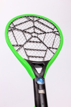 CX010D Indoor Mesh AA battery Mosquito Swatter Outdoor Fly Swatter Dry Cell Large Mesh Anti Mosquito random 52*21 CM