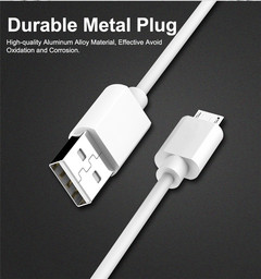Item: SJY00702 Micro USB Cable 1M  Sync Charger Cable For Samsung Xiaomi HTC Android Phones Fast white 1m