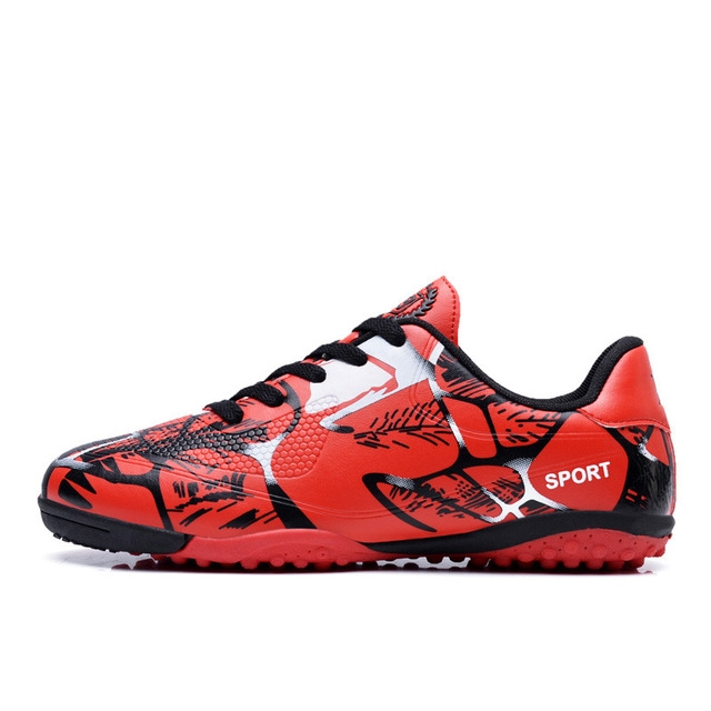 fa66e06d13f New Indoor Futsal Soccer Boots Sneakers Men Cheap Soccer Cleats Football  Shoes with Ankle Boots red1 6  Product No  1995957. Item specifics  Brand