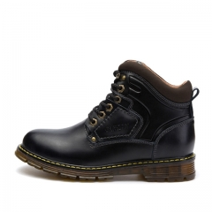 British Short Retro Men Shoes Fashion Martin Men's Boots5872 black 38 black 38