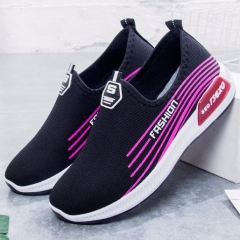 New Breathable women's Shoes fashion Sports Shoes Running Shoes female casual shoes black 36