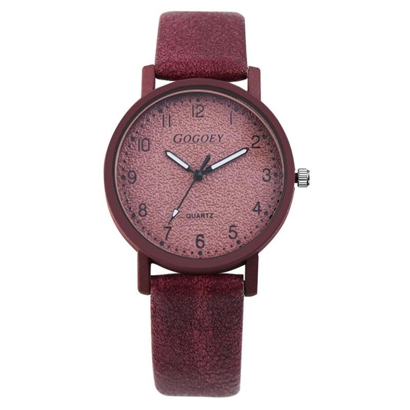 4c5b7fa129e99 Gogoey Brand Women s Watches Fashion Leather Wrist Watch Women ...