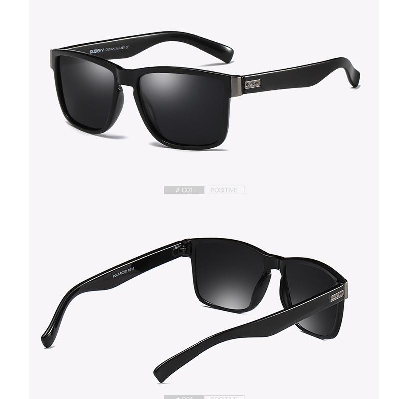 05de8033f1 DUBERY Brand Design Polarized Sunglasses Men Driver Shades Male ...