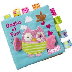 3D cloth book educational early education toy Won't break Enlightening toy Owl 16*16cm