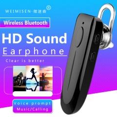 WEIMISEN Version1.5.3 Wireless Bluetooth Earphone with Microphone,HD Sound,Music&Talk,Rechargeable bird white 5*1.5*1cm