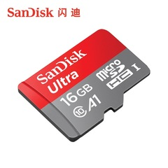 Well-known SanDisk high-speed solid state 16GB 32GB 64GB TF memory card Micro-SD card 98/100MB/S black 1 sandisk-sdsqunc 16gb Micro-SD Card/TF Card