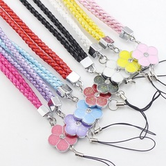 Neck strap key chain pendant phone danglers lanyards necklace mobile accessory red mobile neck lanyard