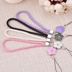 Card wrist strap mobile hand chain cellphone lanyard phone accessories pink mobile wrist strap