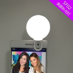 Smart Phone LED Fill-light  Miniature Selfie Beauty Lamp Photography Reflector for Photo Studio white flash light led