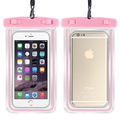 Super Wear Resistant  and Waterproof Mobile Phone Protection Outdoor Luminous Bags white 6 inches