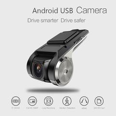 Android USB Camera Radar Detector Automobile Data Recorder Wide-angle Hidden WIFI Driving Recorder