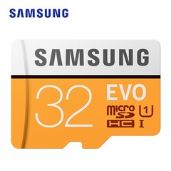 Samsung high-speed solid state TF memory card Micro-SD card orange EVO 32gb micro-sd card/tf card