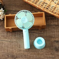 MiniTable Fans for Office or Home Portable Charging Fans Big Size USB Fans green