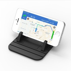 Universal Mobile Phone Holder Bracket Stand Handfree Car Mount for Smartphone black 3.5''-6''