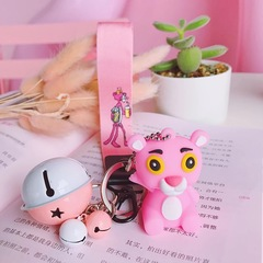 Cute bear lovely bell mobile phone strap three pieces set candy cute bag car accessories pink three pieces set