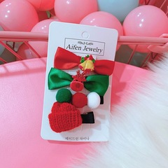 Christmas hair pin candy hair clip duck clip for girls and ladies for Christmas 1#
