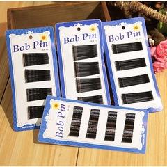 BP-Bobby Pin Metal Hair Clip Girls Hair Accessories Bride Hair Dresser Fashion Accessories black wave 36 pieces