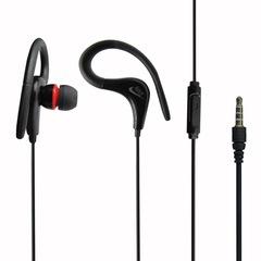 Creative earhook super heavy stereo earbuds sports headphones black