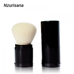 Single Makeup Brush For Foundation Powder Blush Makeup creamy white