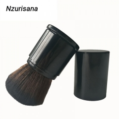 Single Makeup Brush For Foundation Powder Blush Makeup dark grey