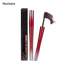 Fexport Double Eyebrow Pencil Eyebrow Cream F6107 Waterproof  Not Blooming Easy to Color black