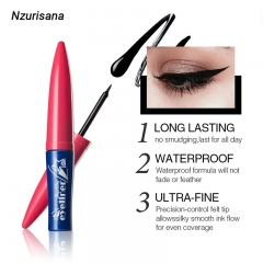 Deep Brown Makeup Eyeliner Waterproof and Sweat-proof Makeup Beauty Cosmetic Tool deep  brown