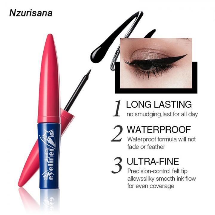 Deep Brown Makeup Eyeliner Waterproof and Sweat-proof Makeup Beauty Cosmetic Tool deep  brown