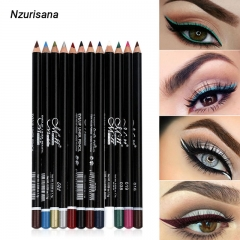 2020 NEW 12 Colors High-Pigment Longwear Eyeliner multicolor
