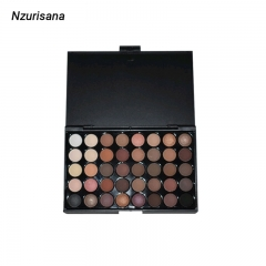 Fashion Eyeshadow Palette 40Colors Matte EyeShadow Naked Palette Glitter Eye Shadow MakeUp Set Yazhuguang