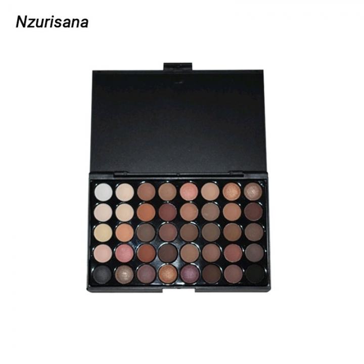 Fashion Eyeshadow Palette 40Colors Matte EyeShadow Naked Palette Glitter Eye Shadow MakeUp Set Yazhuguang